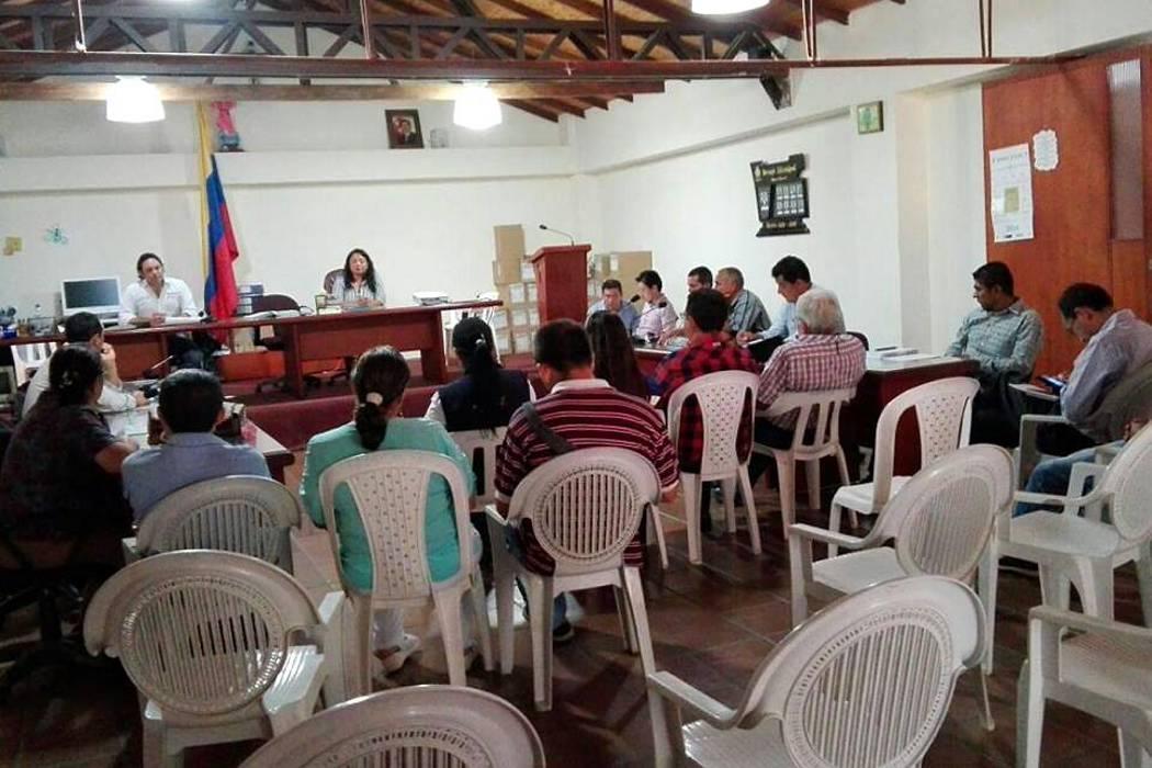 Realizaron inspección a las obras del corredor vial Vélez - Chipatá