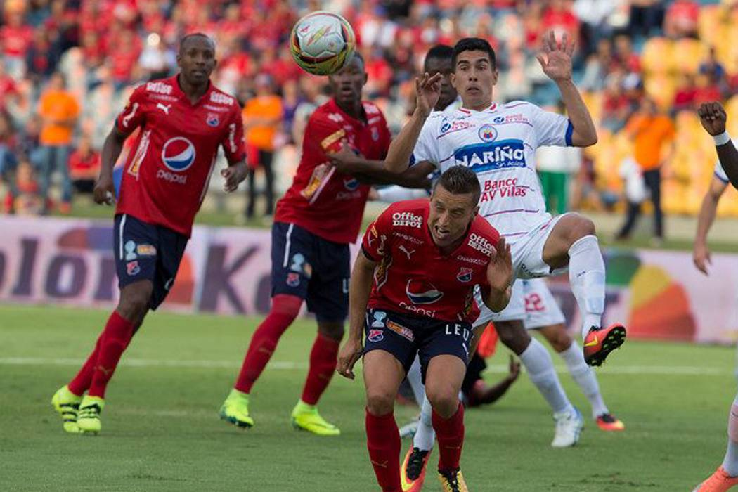 Medellín aprovechó el empate del Bucaramanga y asumió el liderato