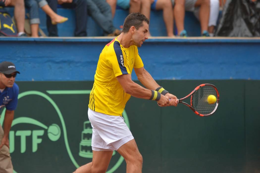 Colombia busca continuar con su dominio en Copa Davis