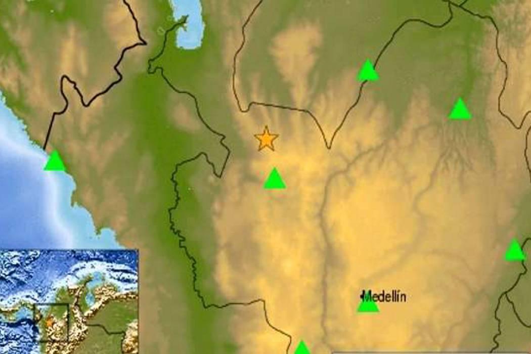 Un temblor de 6.1 grados sacudió el occidente de Colombia