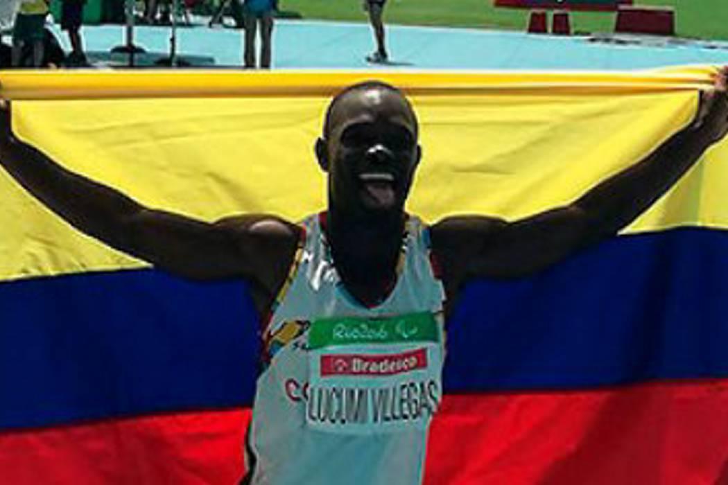 Vallecaucano Luis Fernando Lucumí se cuelga la plata en los Juegos Paralímpicos