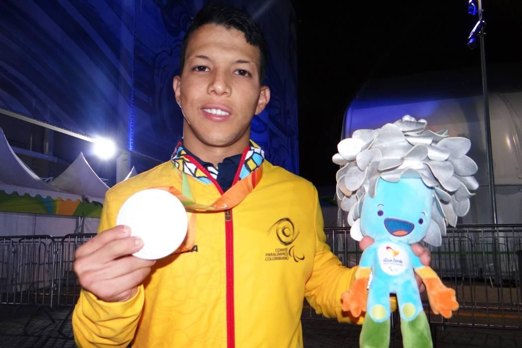 Santandereano Nelson Crispín ganó su segunda medalla de plata en Río 2016
