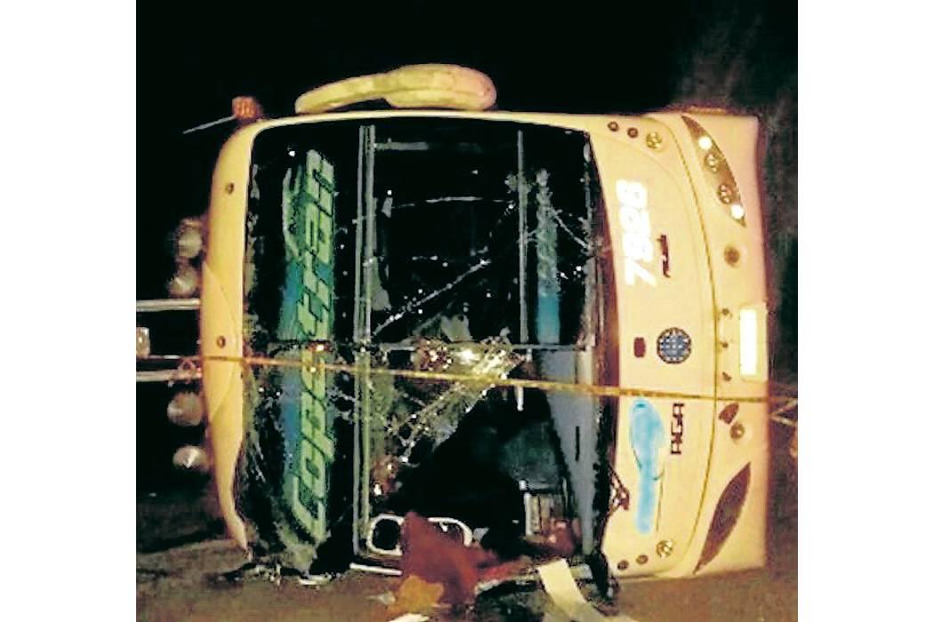 Accidente de un bus de Copetrán dejó 8 heridos