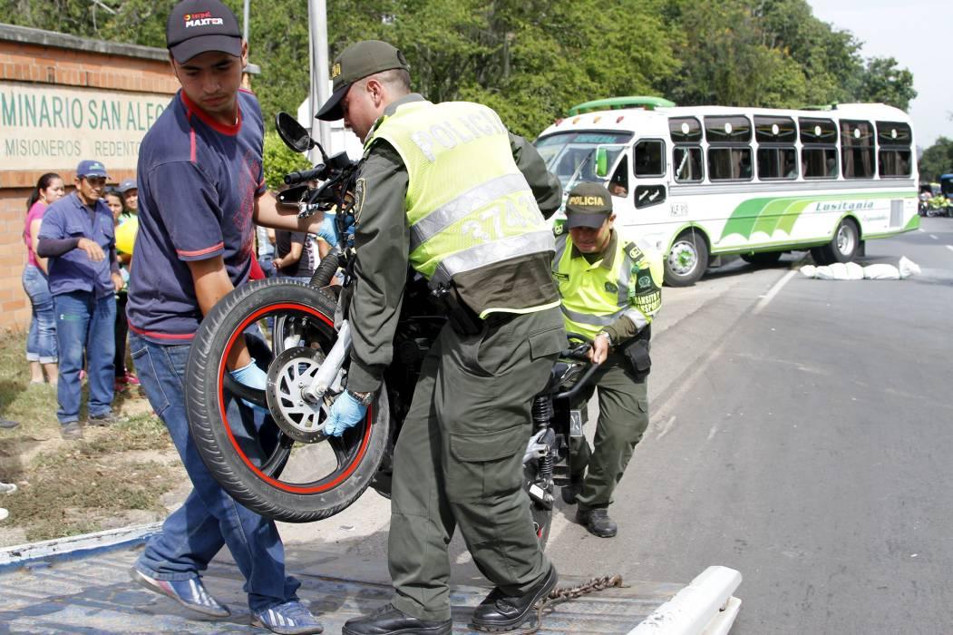 Se intensificarán campañas de seguridad vial en Piedecuesta