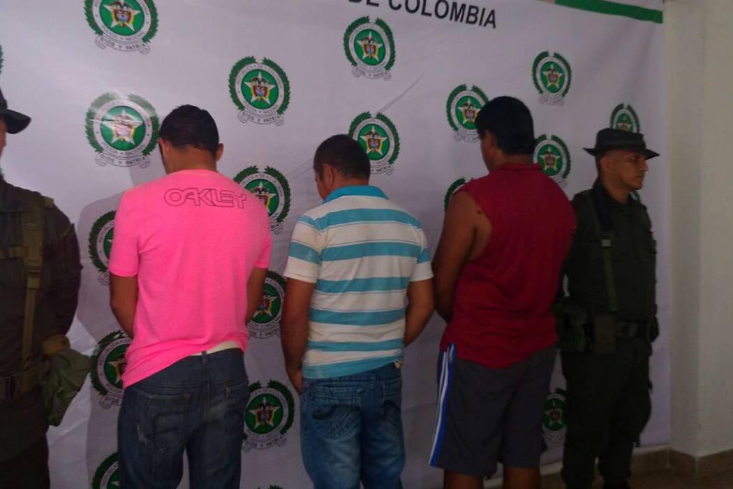 Tres capturados en una  ladrillera quedaron libres