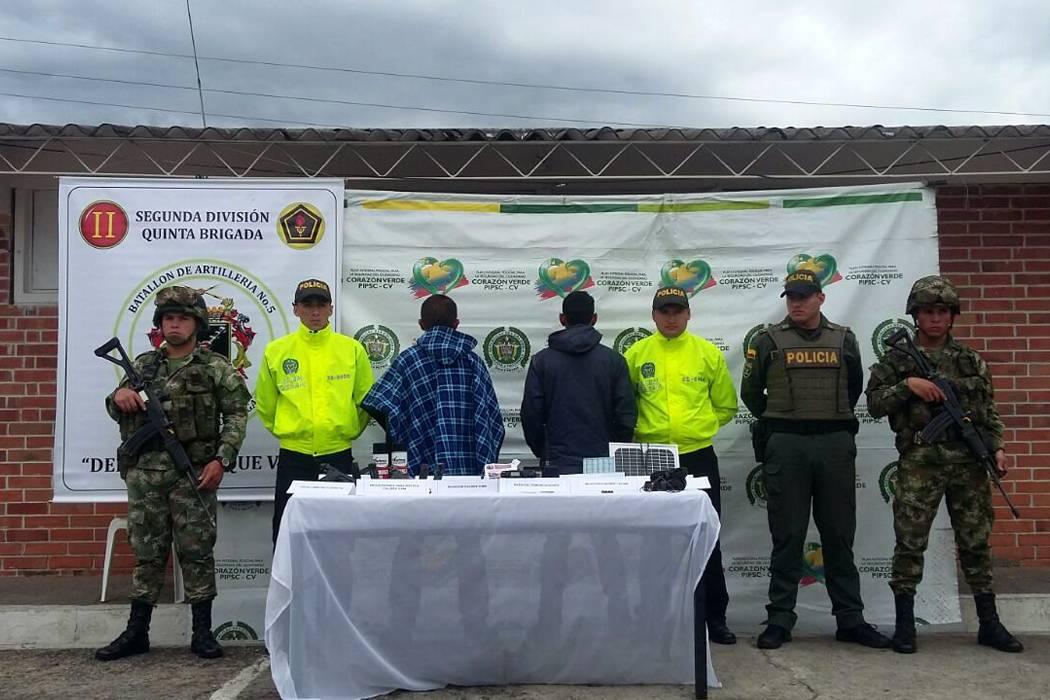 Caen otros presuntos milicianos  del Eln en Concepción, Santander
