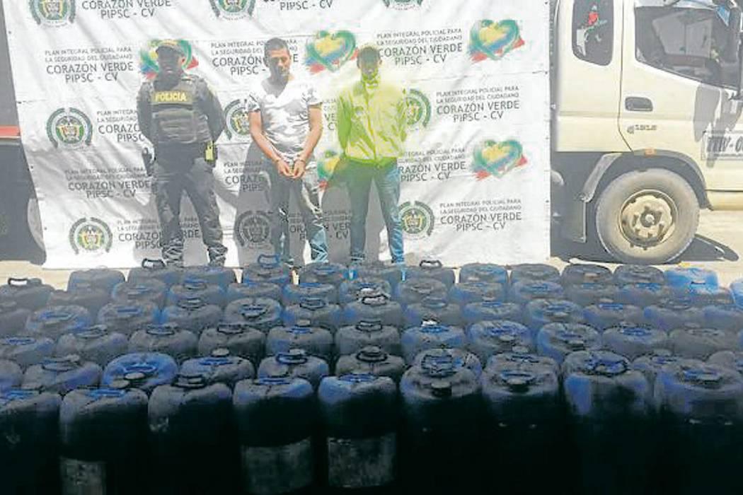 Autoridades capturan hombre que transportaba canecas con ácido