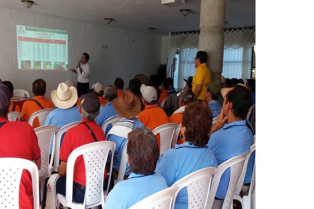 Encuentro de gestión cafetera  se realizó en Puente Nacional