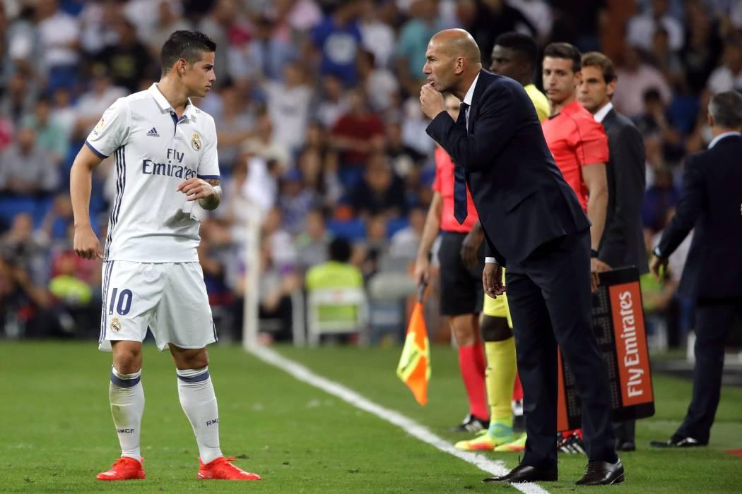 James, por otra titular con el Real Madrid