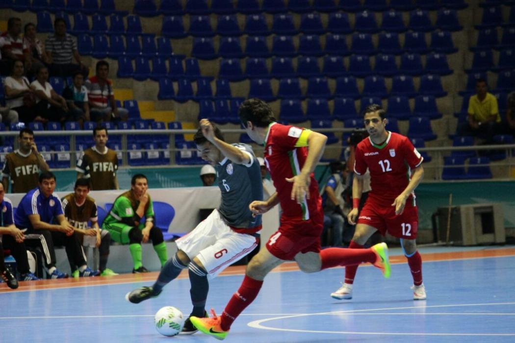 Irán eliminó a Paraguay en el Mundial de Futsal en Bucaramanga