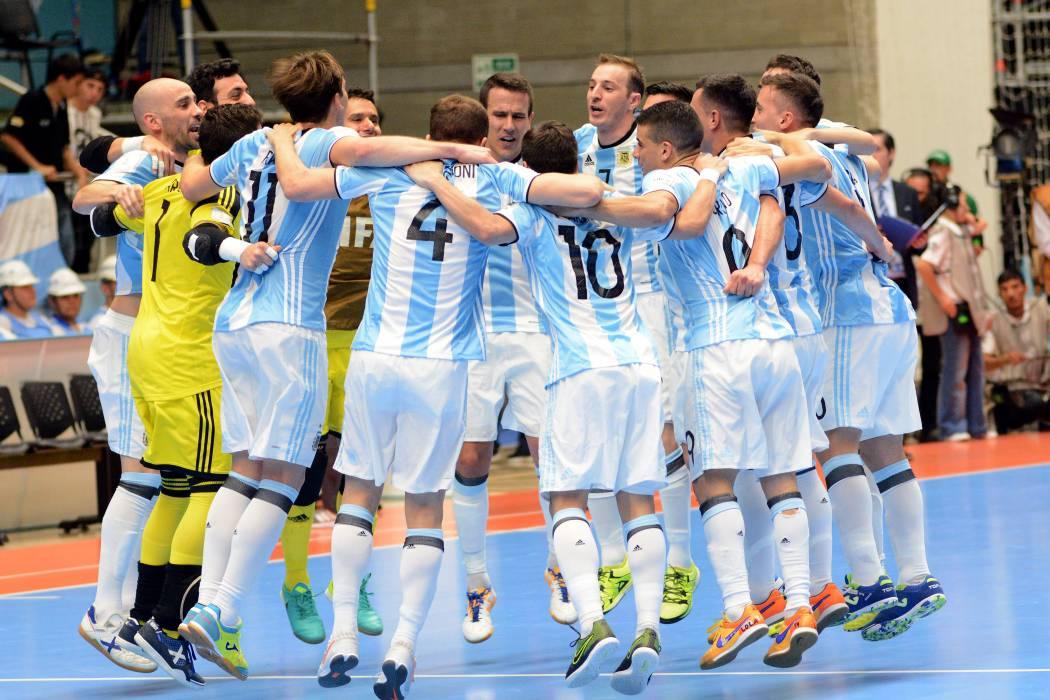 Argentina y Portugal son semifinalistas de la Copa Mundo de Fútbol Sala Colombia