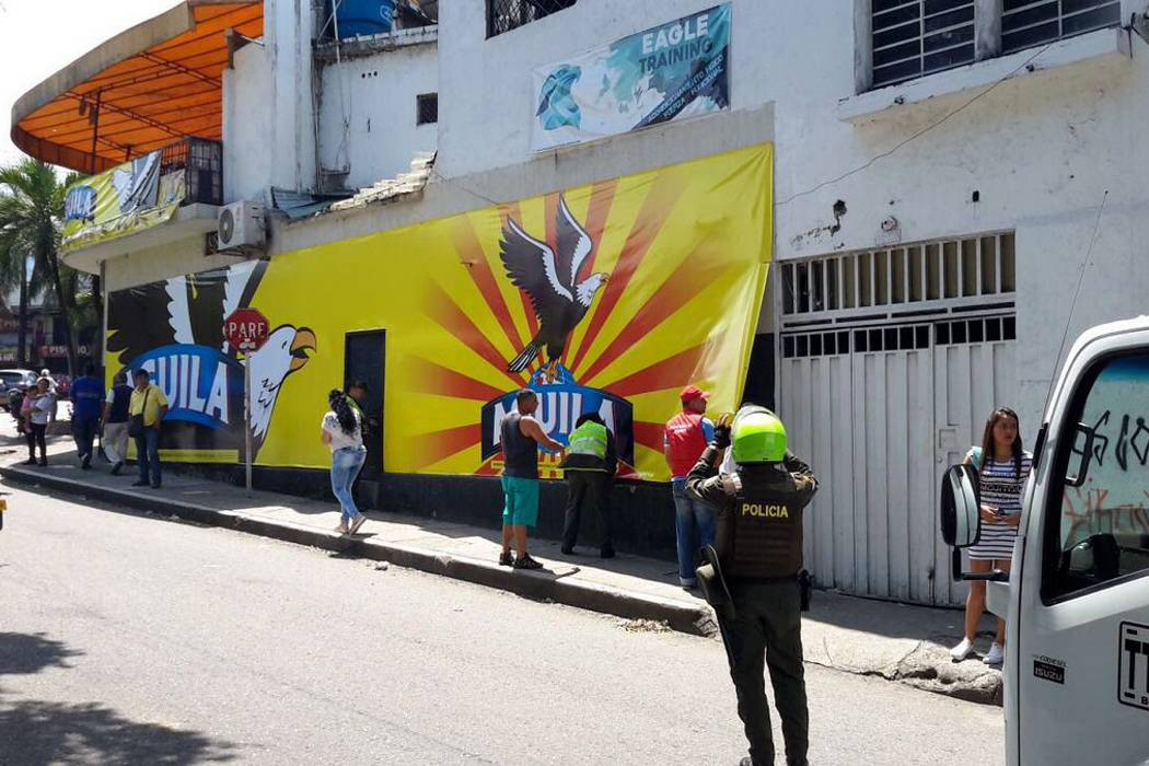 Desmontaron 50 vallas y pasacalles ilegales en Bucaramanga