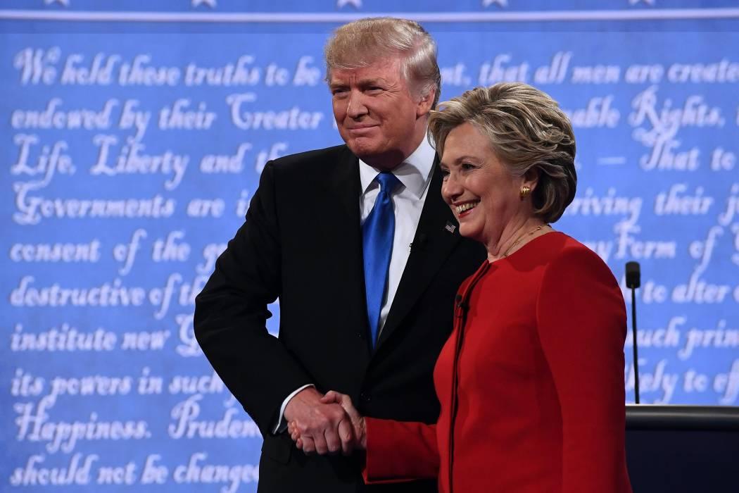 Comienza el primer debate presidencial entre Hillary Clinton y Donald Trump