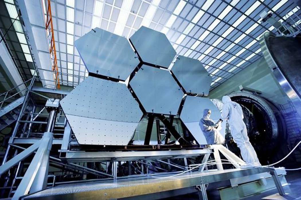 """Sucesor del """"Hubble"""" se alista para  captar luz de las primeras galaxias"""
