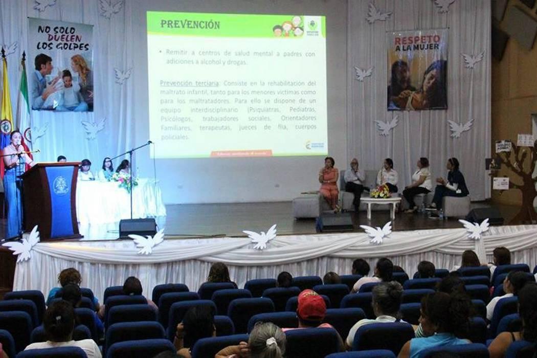 Promueven prevención de violencia contra la mujer