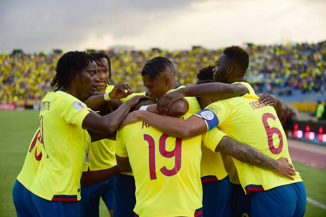 Ecuador goleó 3-0 a Chile en las Eliminatorias al Mundial de Rusia 2018