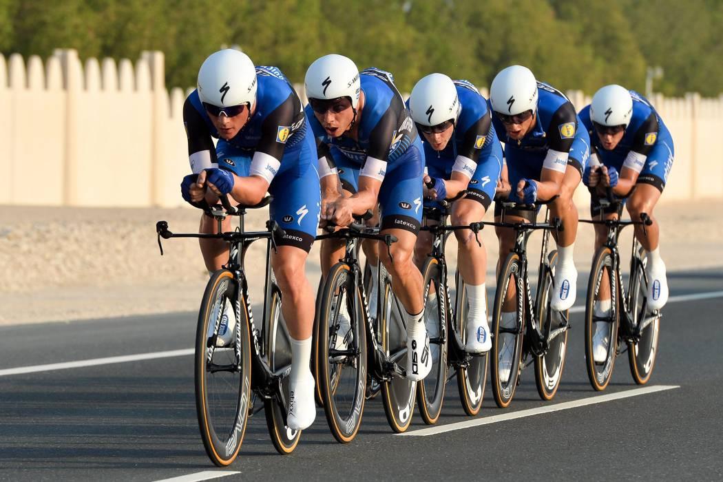 El Etixx dominó la 'crono' por equipos en el Mundial de Ciclismo