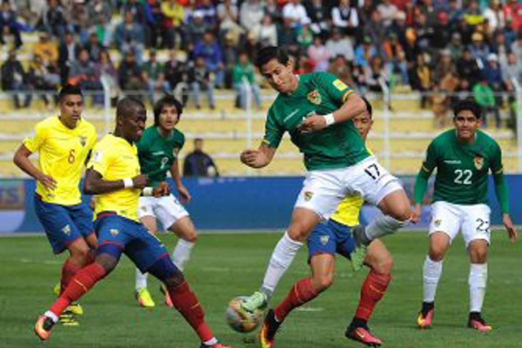 Bolivia y Ecuador empataron 2-2