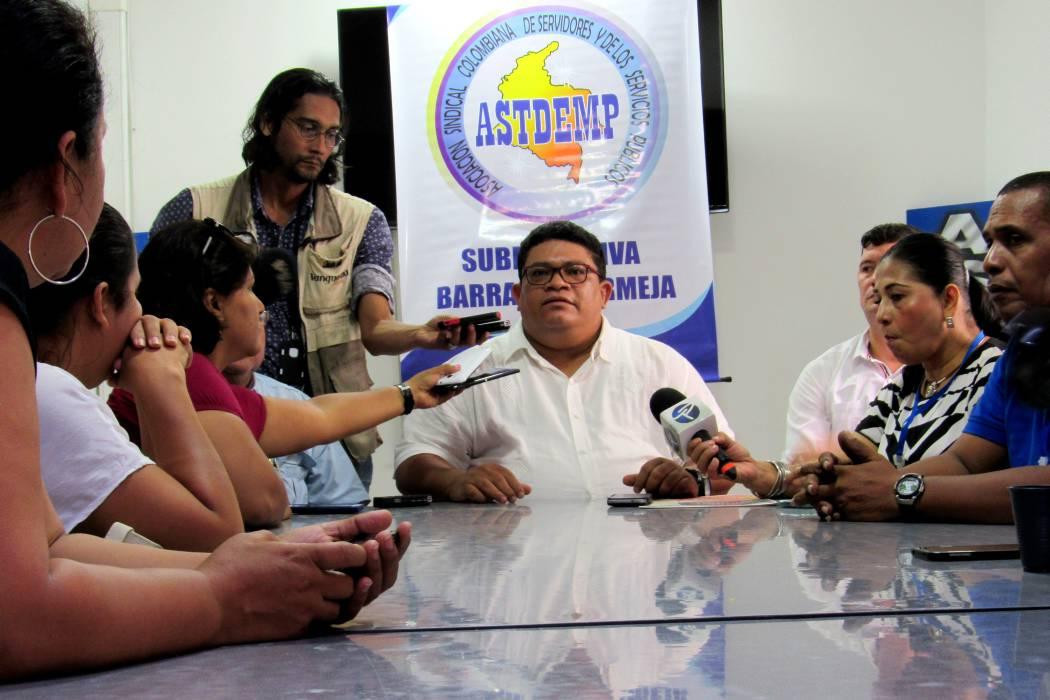 Con un mensaje de texto amenazan de muerte a líder sindical en Barrancabermeja