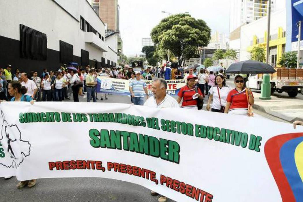 Sindicato de profesores convocó a paro a docentes de la provincia guanentina