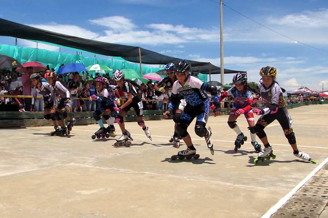 El patinaje cobró vida con el  reciente festival departamental