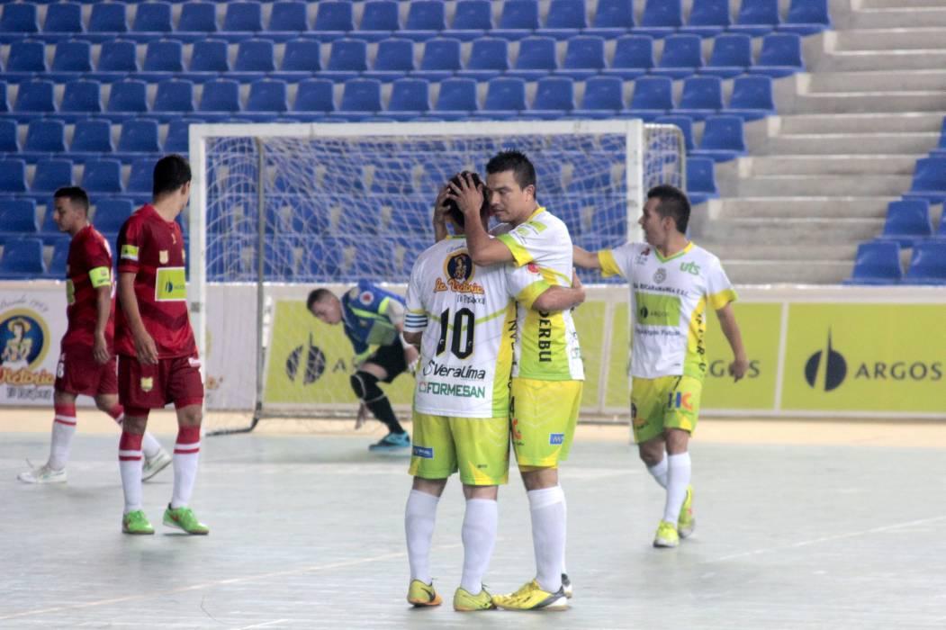 Real Bucaramanga goleó a Barranquilla
