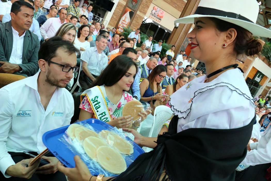 Floridablanca se viste de  gala con su 'Feria Dulce'
