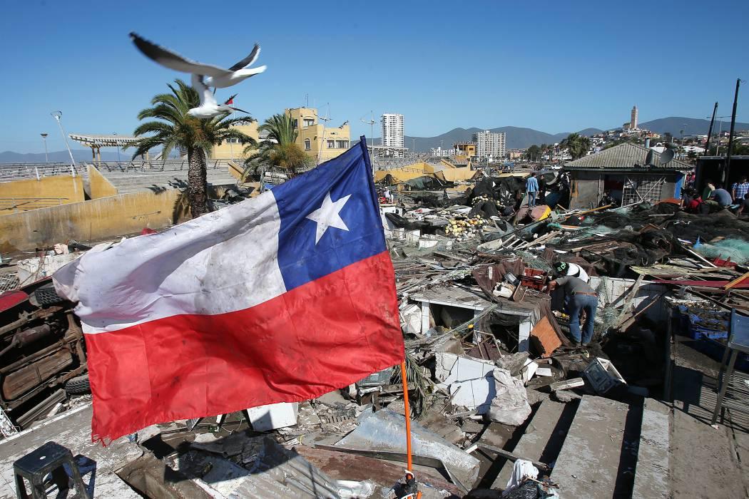 Fuerte temblor en Chile no deja heridos
