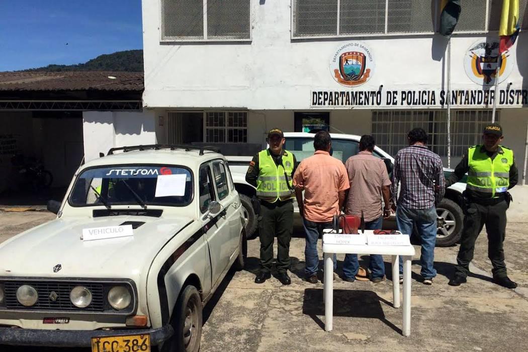 Denuncia permite envío de ladrones a la cárcel en Santander