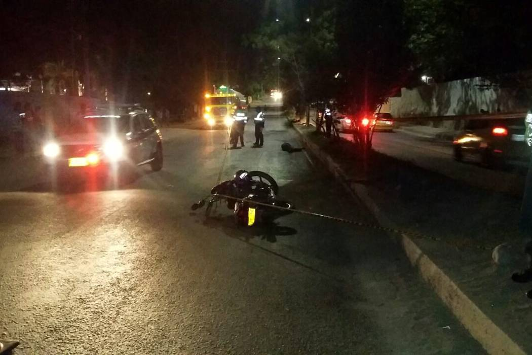 Otro motociclista murió en grave accidente de tránsito