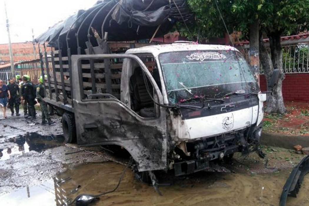 17 policías y dos civiles heridos en un ataque con explosivos en Cúcuta