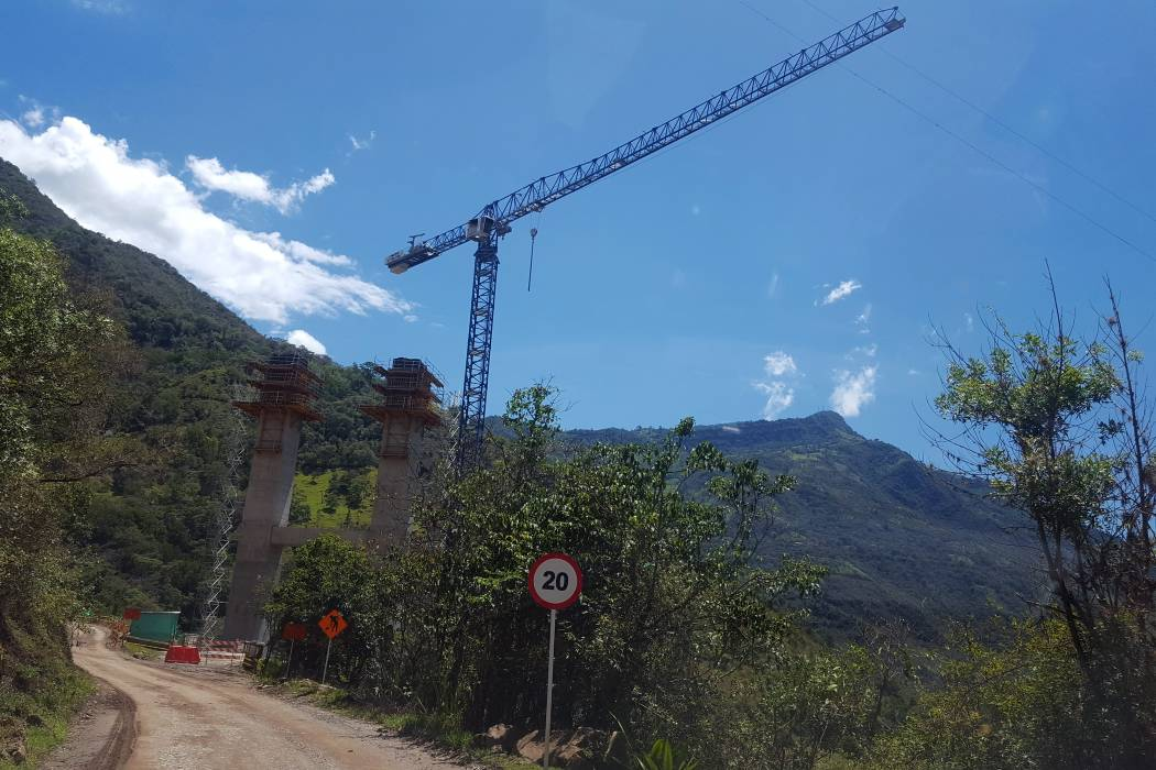 Los tres elefantes blancos de la vía Curos-Málaga
