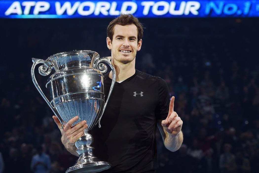 Murray ganó el Masters y sigue en la cima del tenis