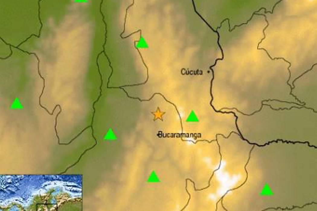 Temblor sacudió a Santander este jueves