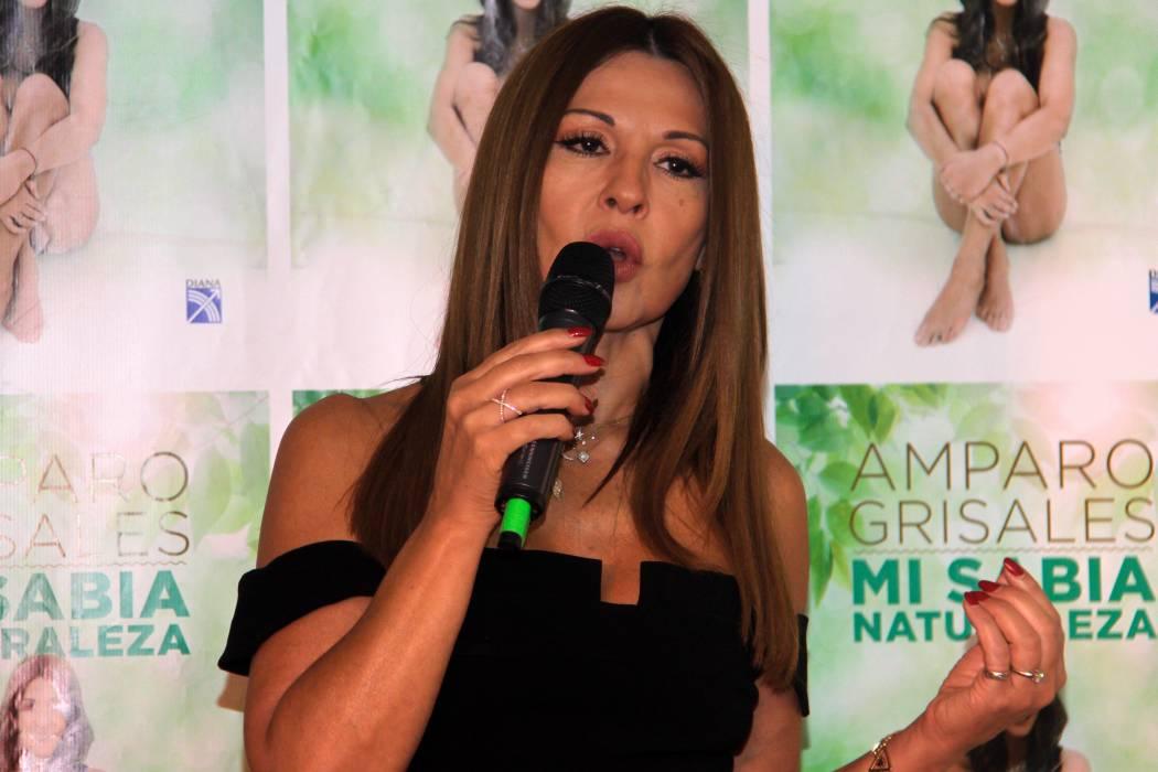 Amparo Grisales revela el secreto de su 'eterna' juventud