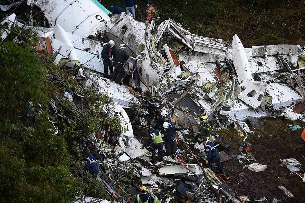 71 muertos deja accidente del avión del Chapecoense