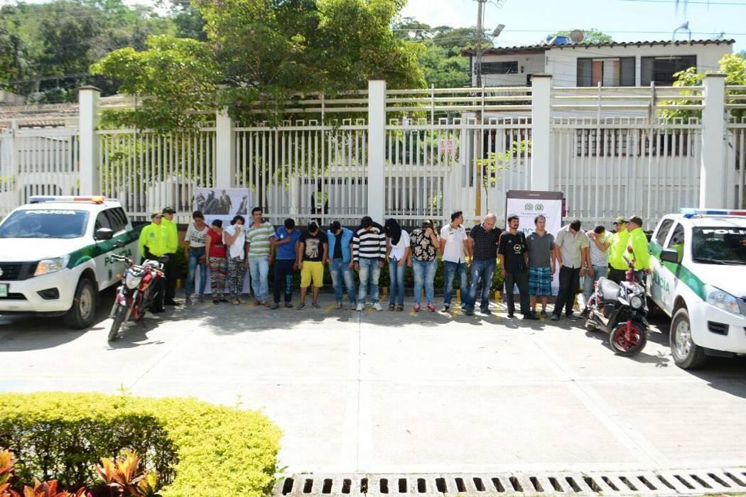 Duro golpe contra el microtráfico en San Gil