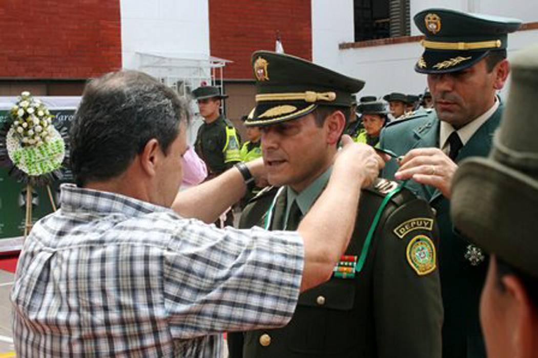 General Juan Libreros, nuevo comandante de la Policía de Bucaramanga