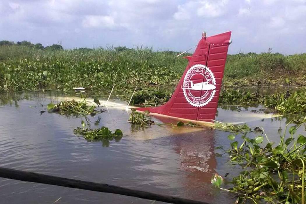 Un piloto de 19 años se estrelló en avioneta cerca a Soledad, Atlántico