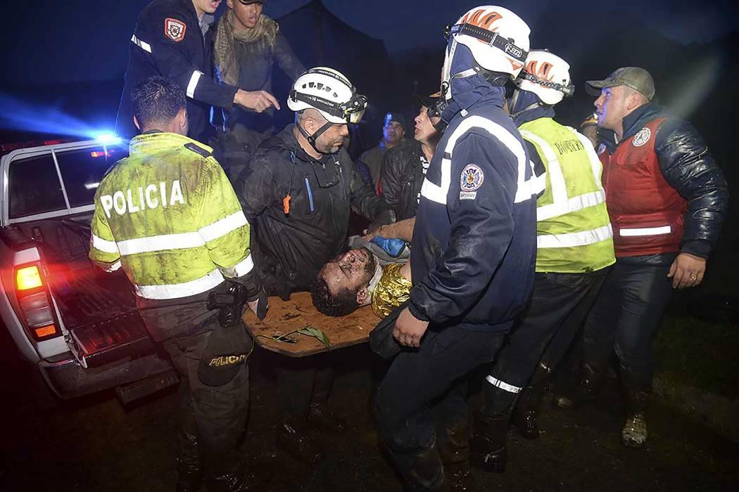 Entregan nuevo parte médico de cuatro sobrevivientes al accidente del Chapecoense