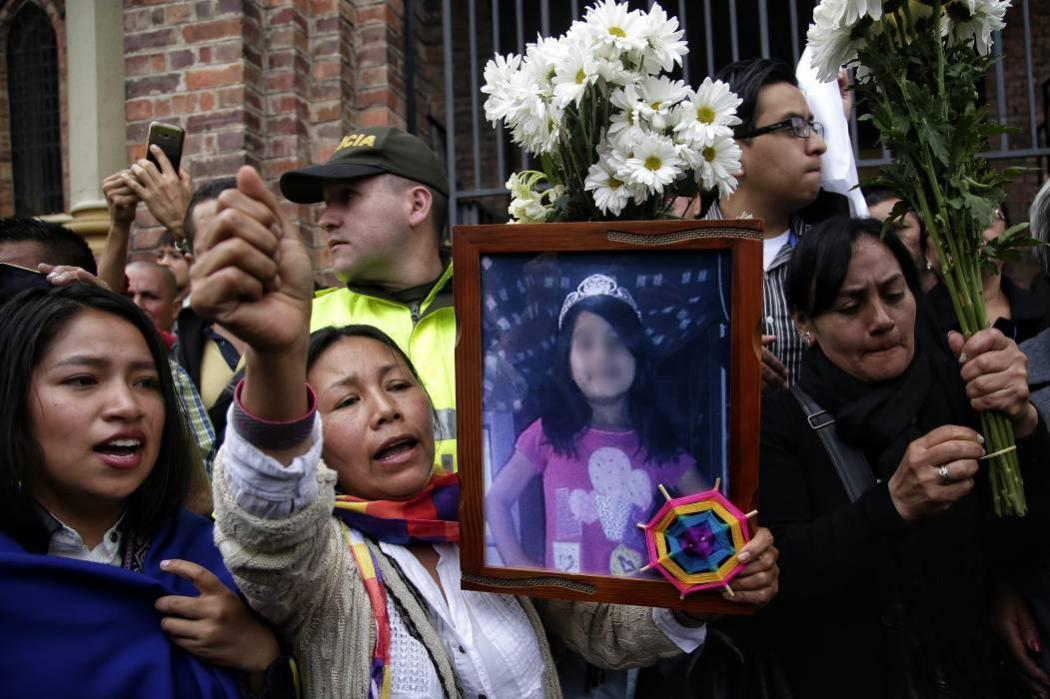Exequias de Yuliana Samboní se realizaron en el Norte de Bogotá