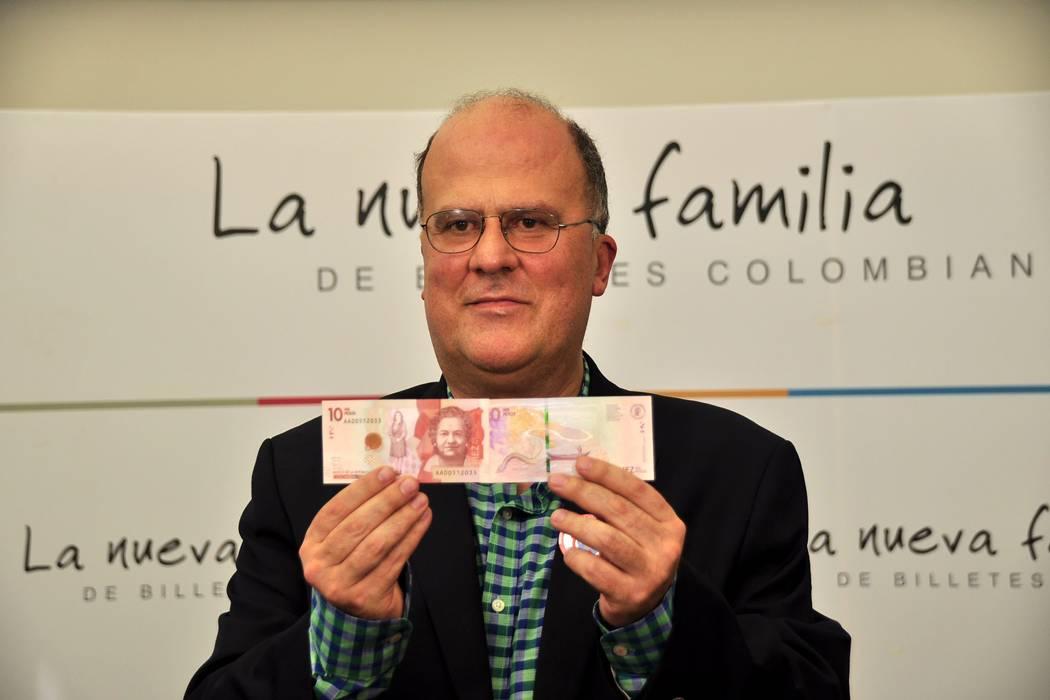 Banco de la República lanzó el nuevo billete de 10 mil pesos en el Socorro