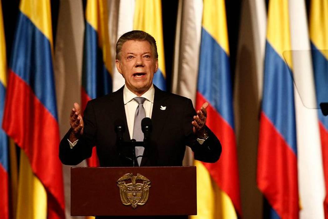 Con víctimas de la violencia, Santos viaja a Noruega para recibir el Nobel