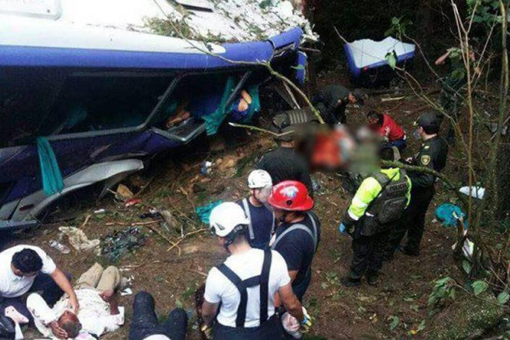 Seis muertos y 10 heridos deja accidente en el sur del Cauca