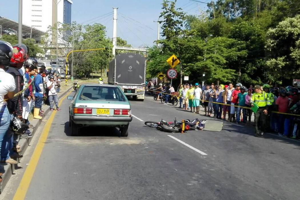 Otro motociclista falleció en trágico accidente de tránsito