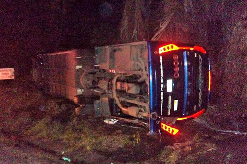 Cinco muertos y 32 heridos dejó  accidente de un bus de Copetrán