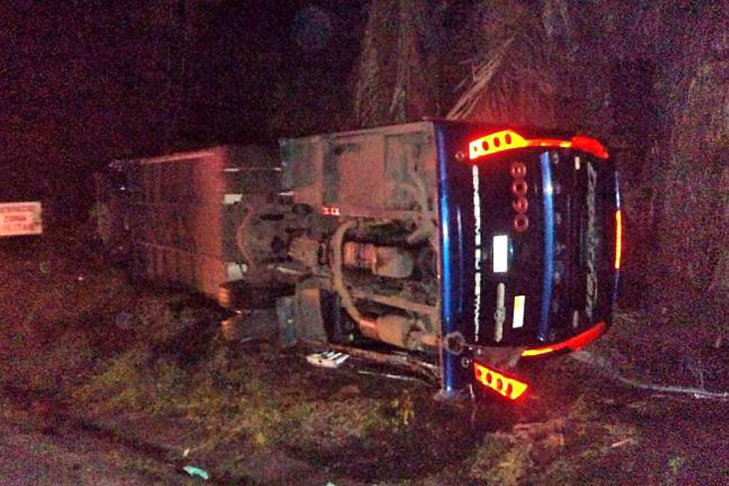 Un 'microsueño' sería la causa de accidente del bus de Copetrán que dejó cinco muertos