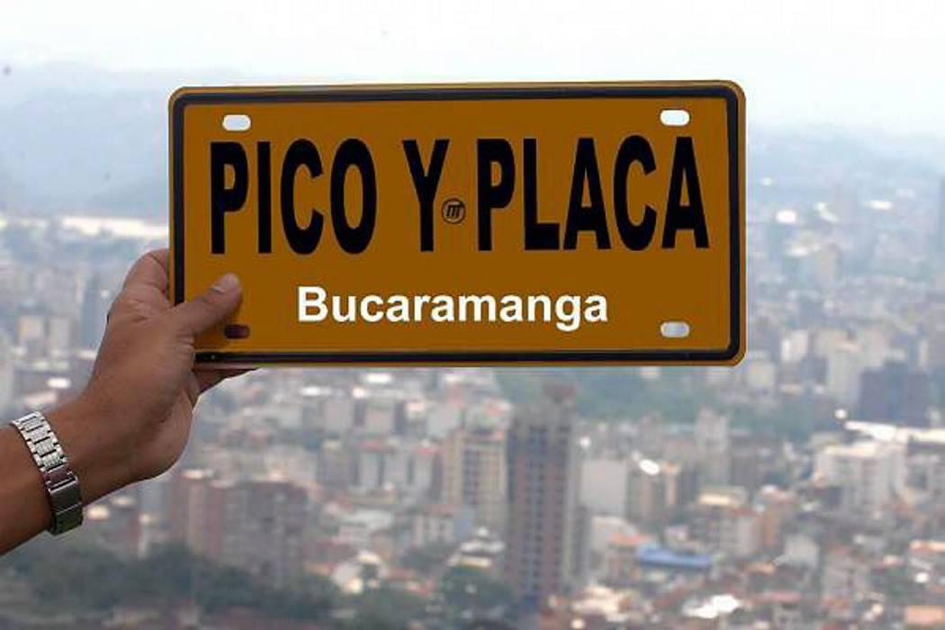 'Pico y Placa' sigue liberado hasta nueva orden: Tránsito de Bucaramanga