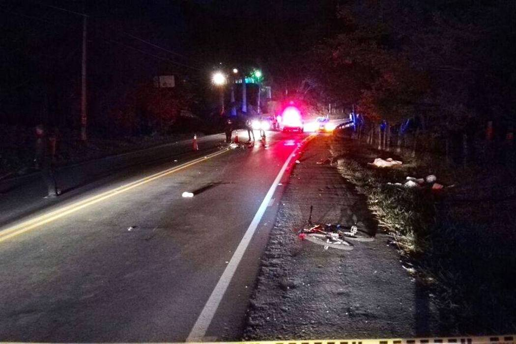 Dos muertos dejó accidente de tránsito en la vía Bucaramanga-Bogotá