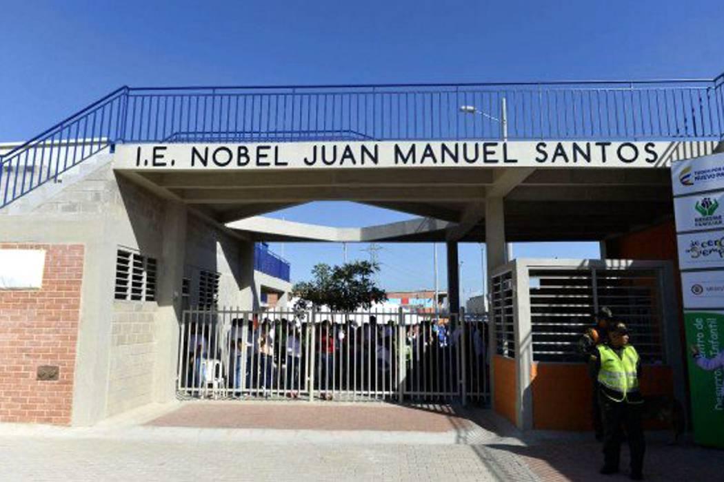 Inauguran colegio Nobel Juan Manuel Santos en Atlántico